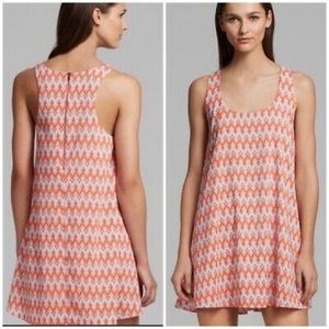 S Alice & Olivia Racerback Print Estelle Dress